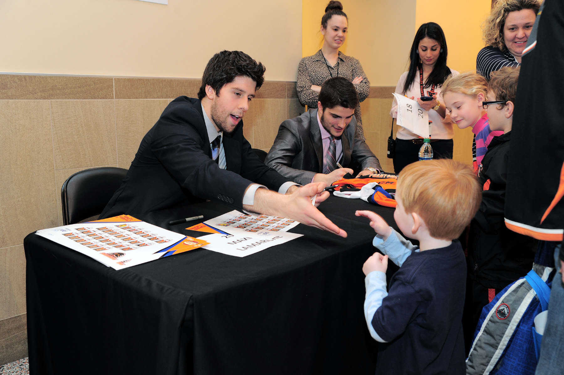 Post-Game Autographs with Phantoms Players - Saturday, October 22 @ PPL Center