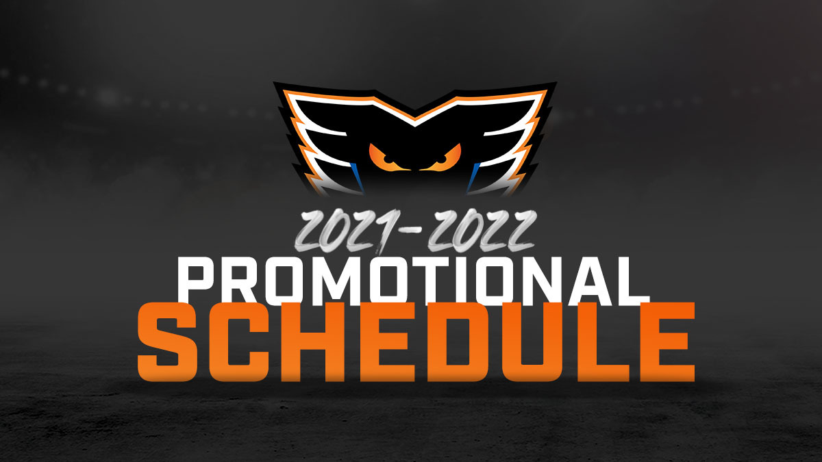PROMOTIONAL SCHEDULE 2021-2022