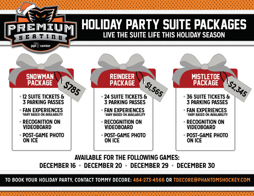 Holiday Party Suites