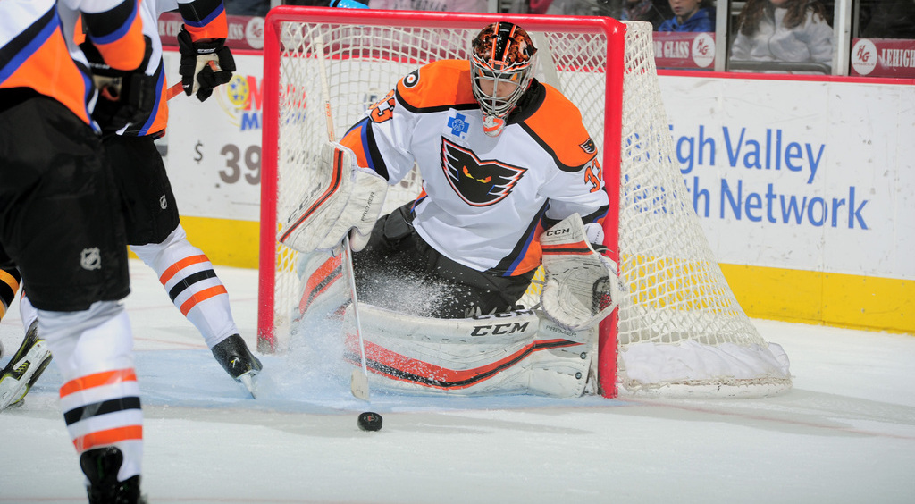 Transaction: G Martin Ouellette Recalled by Lehigh Valley