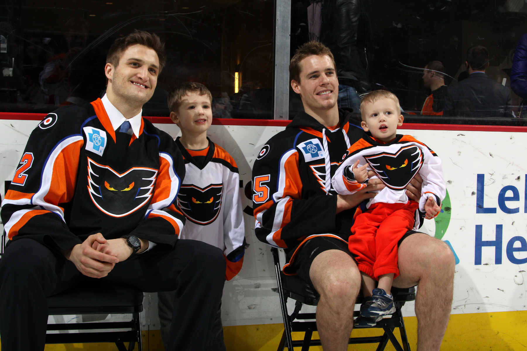 Post-Game Photos with Phantoms Players - Saturday, February 13 @ PPL Center