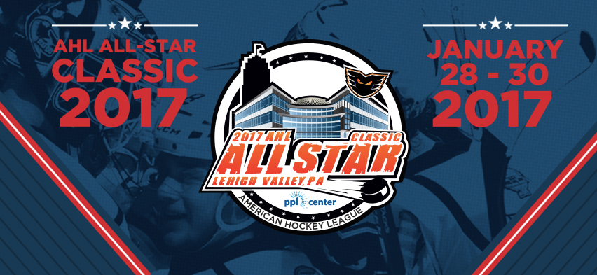 Lehigh Valley Phantoms to Host 2017 AHL All-Star Classic