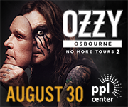 Ozzy Osbourne No More Tours 2 at PPL Center Ad