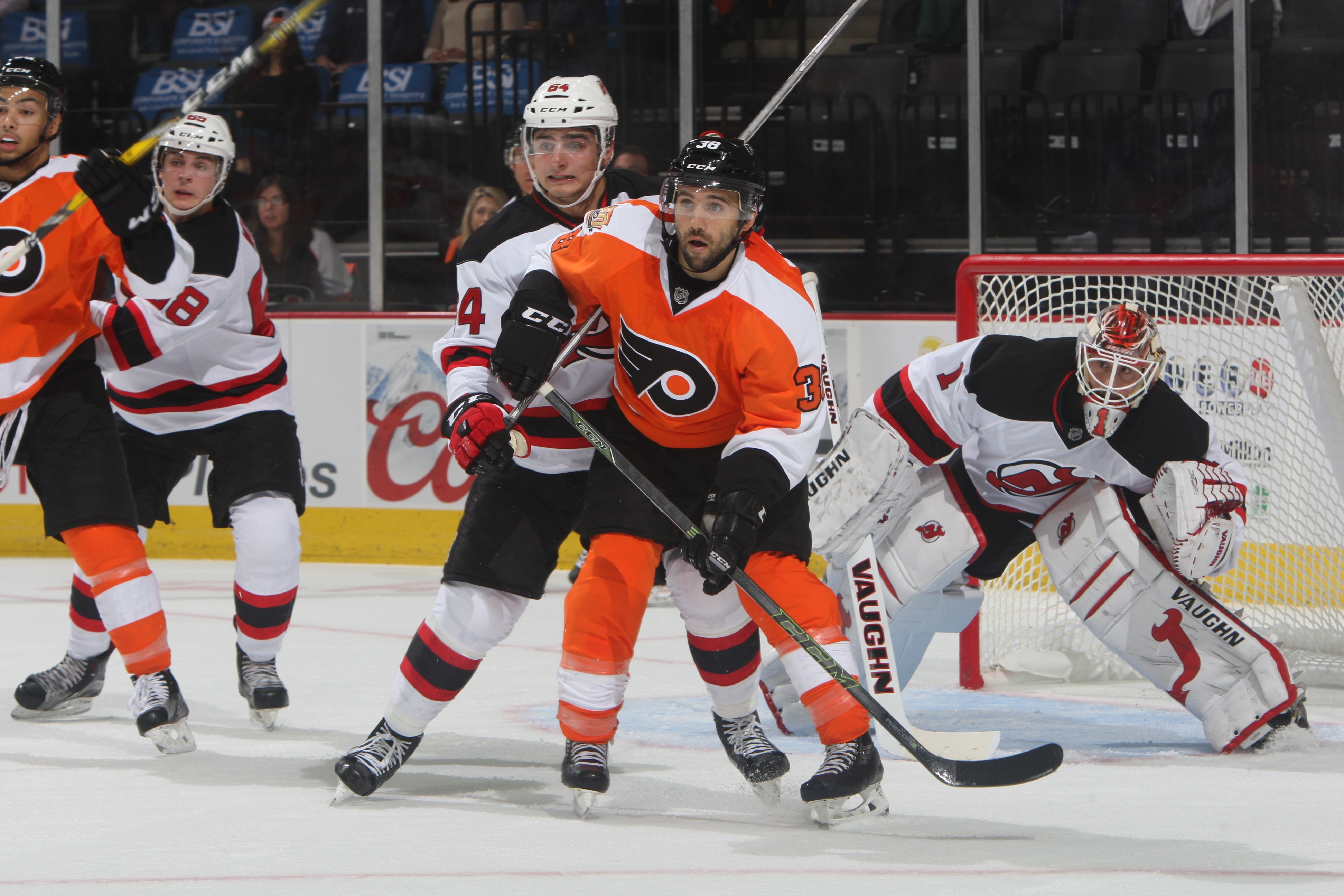 Flyers Down Devils 2-0 as Hockey Returns to PPL Center