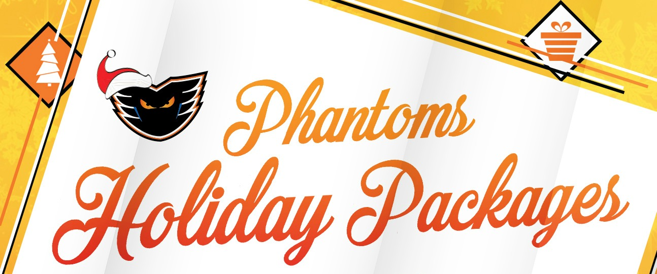 Phantoms Holiday Packs Available Now!