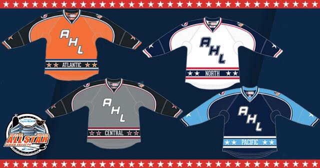 AHL ALL-Star Jerseys