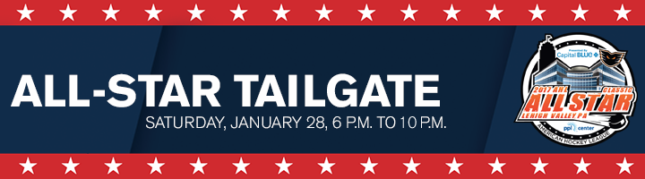 AHL All Star Tailgate Banner Lehigh Valley Phantoms Website Updated