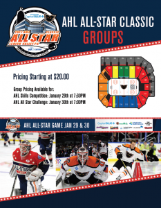 AHL All-Star Tickets Group Sales Flier