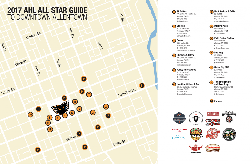 Local Business All Star Sponsors Map