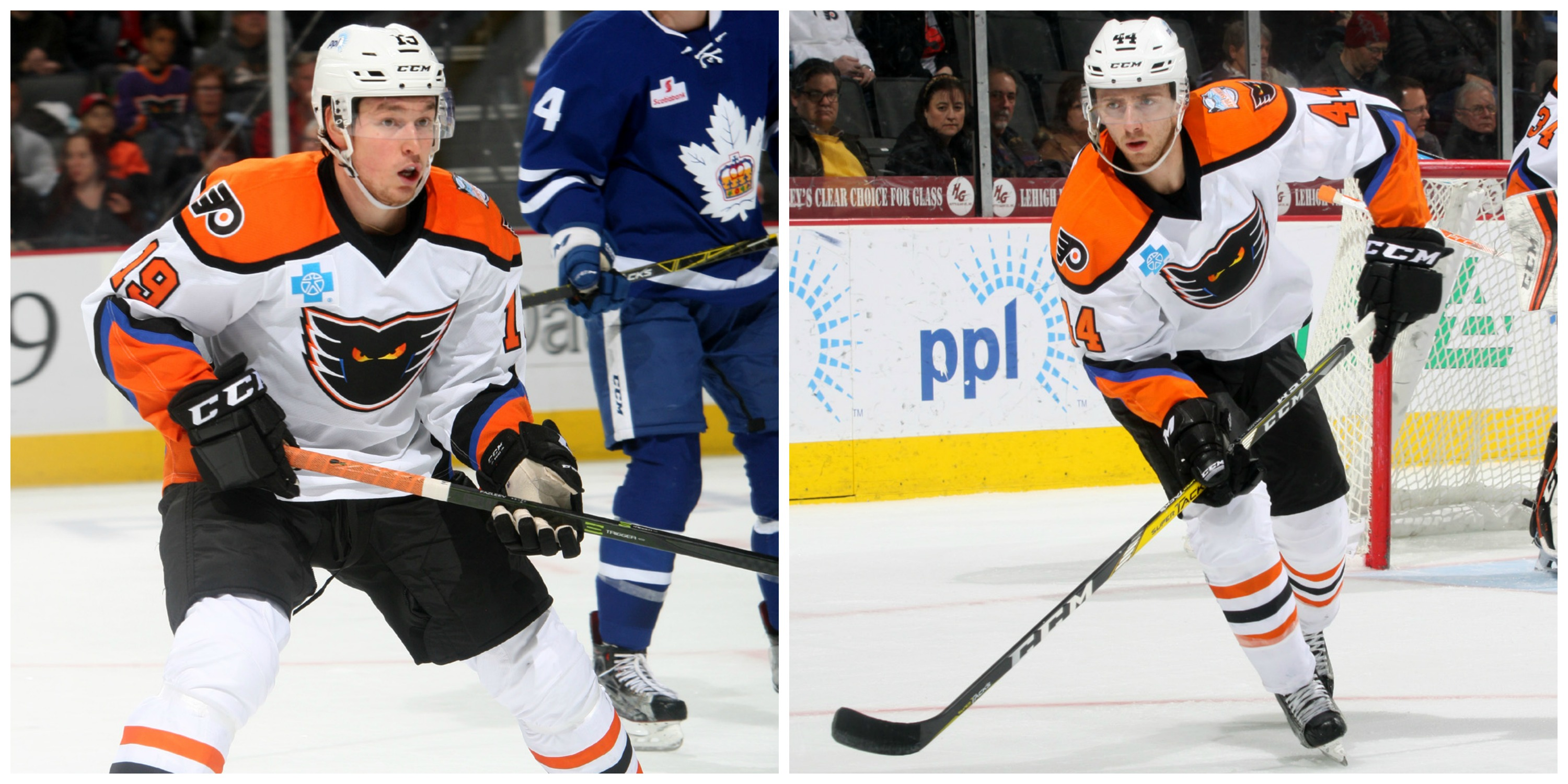 Radel Fazleev and Reece Willcox Reassigned to Lehigh Valley