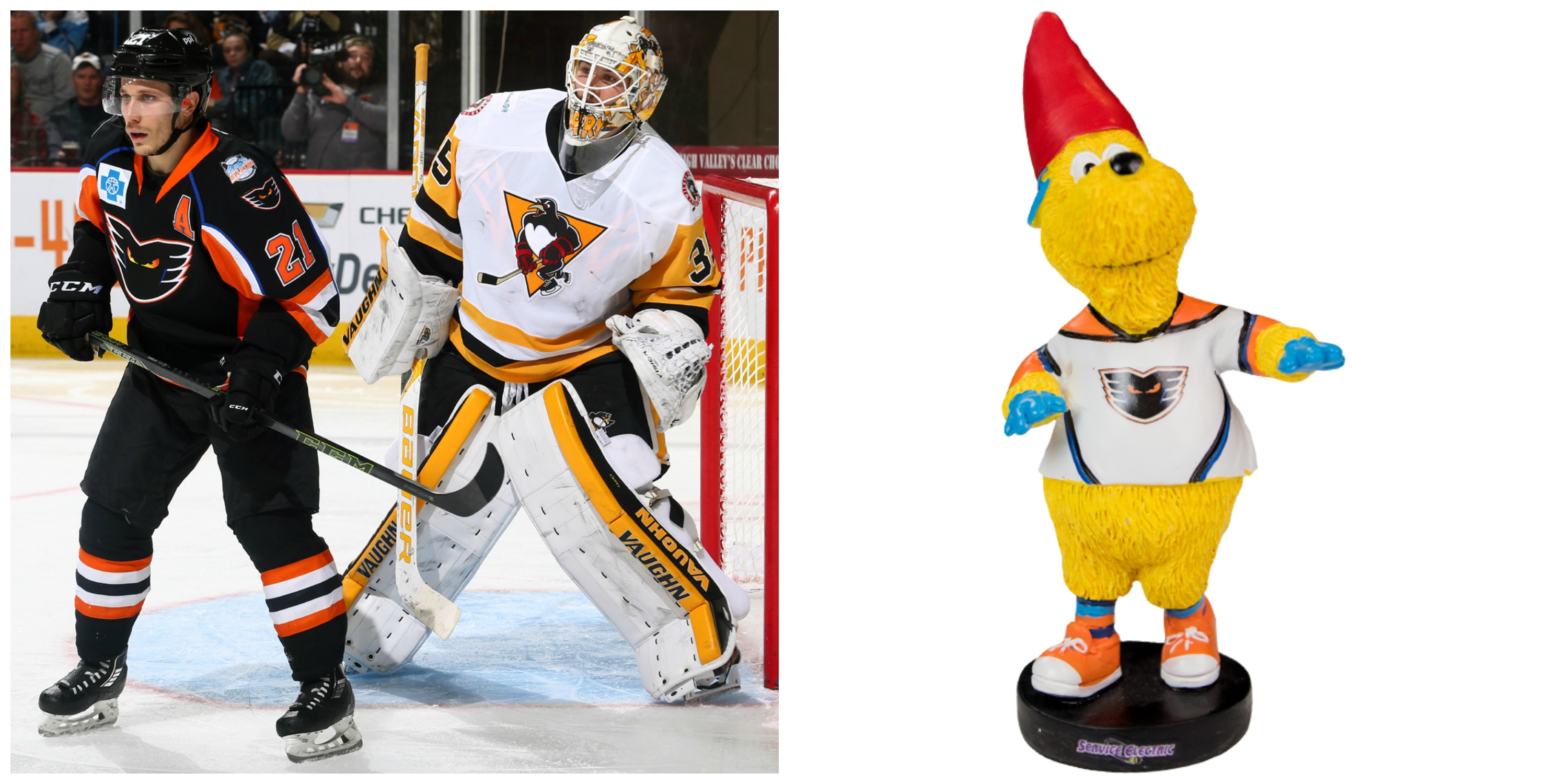 meLVin Garden Gnome Giveaway - Saturday, March 25, 7:05 p.m. @ PPL Center