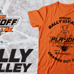 Rally the Valley Playoff Shirts