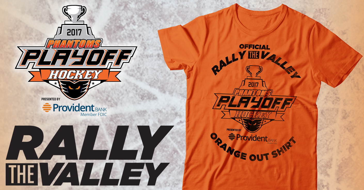 Orange Out! Wear Orange to All Phantoms Home Playoff Games