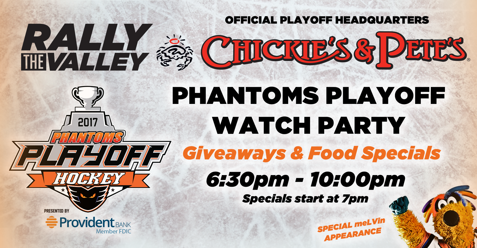 Official Phantoms Game 4 Playoff Watch Party