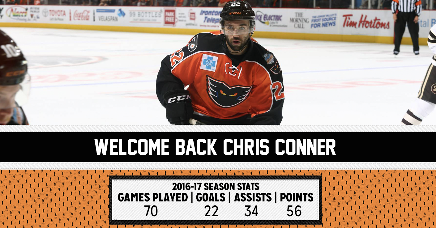 Chris Conner Re-Signs 1410x738