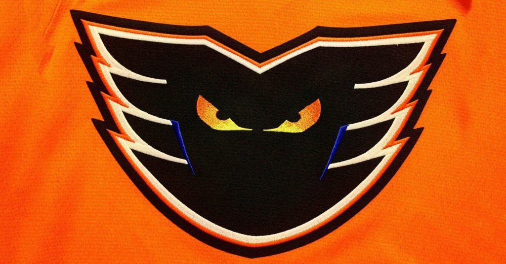 Phantoms Jersey Crest Orange 1410x738