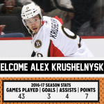 Alex Krushelnyski Signs