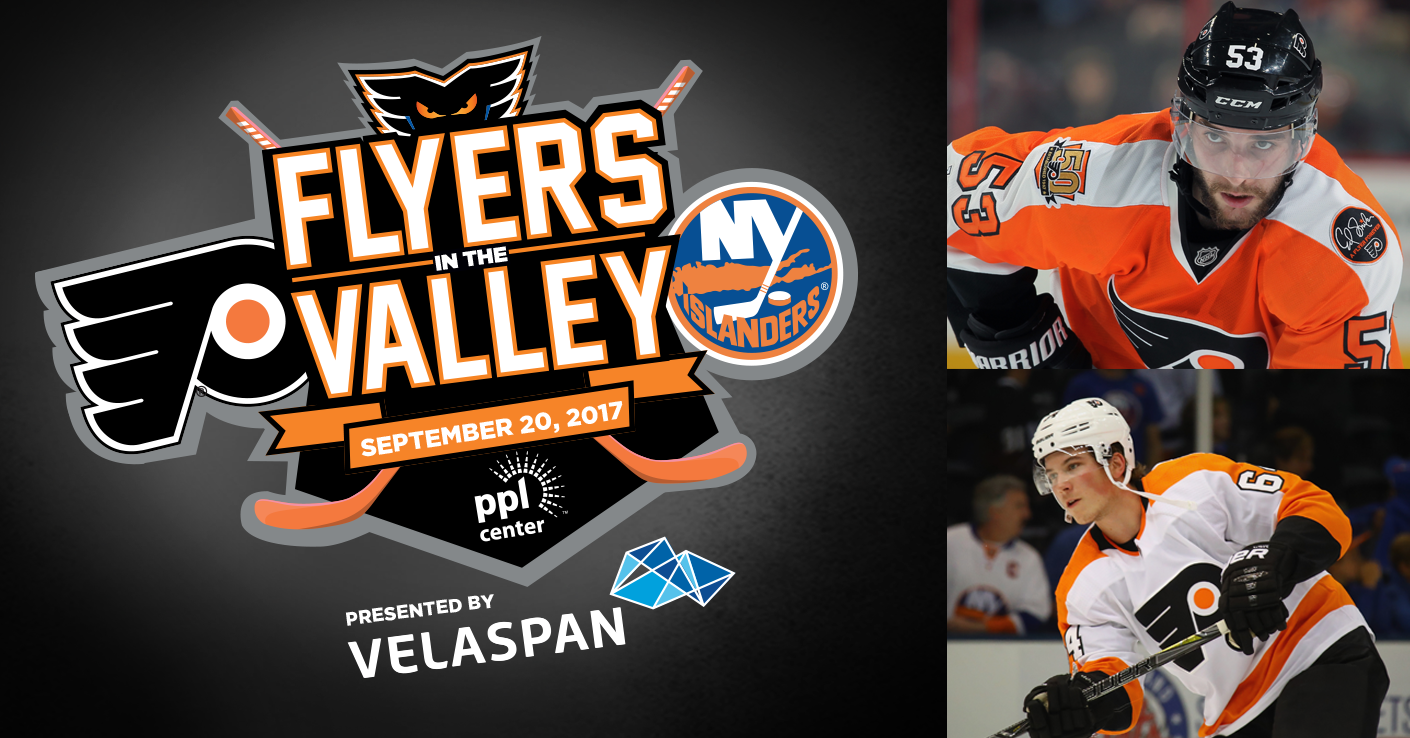 Nolan Patrick & Shayne Gostisbehere to Appear in Flyers in the Valley at PPL Center