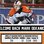 Mark Dekanich Re-Signs