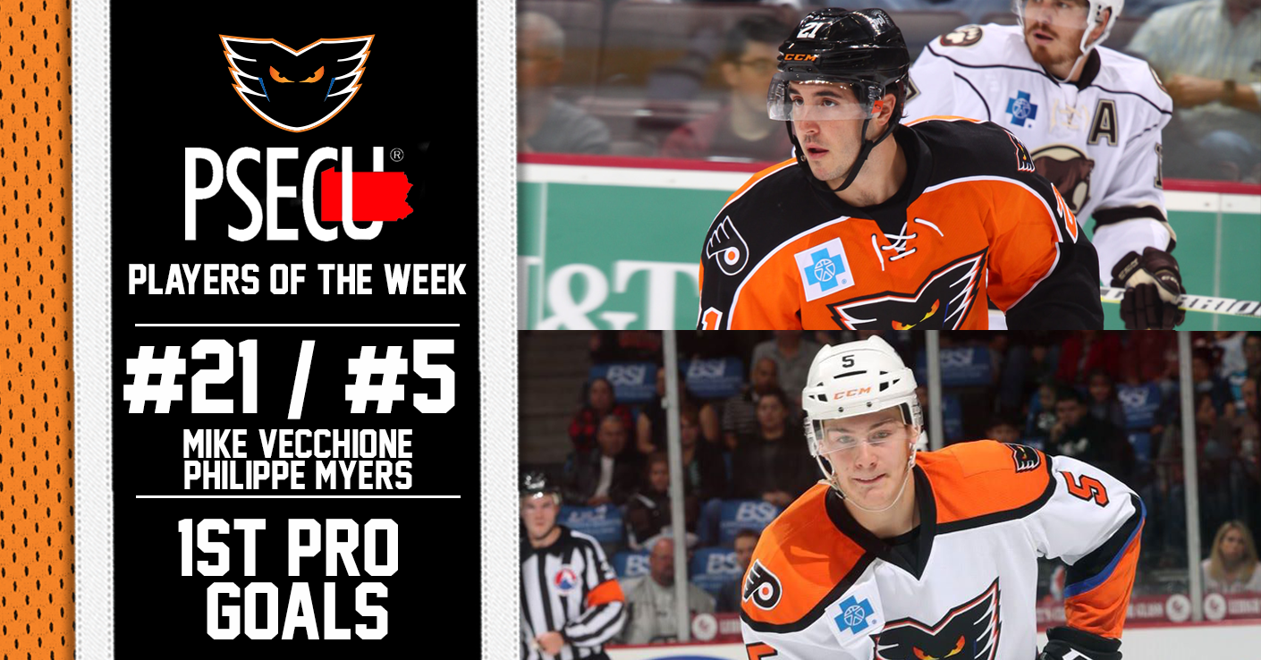 PSECU Player of the Week (10/16) - Mike Vecchione and Philippe Myers