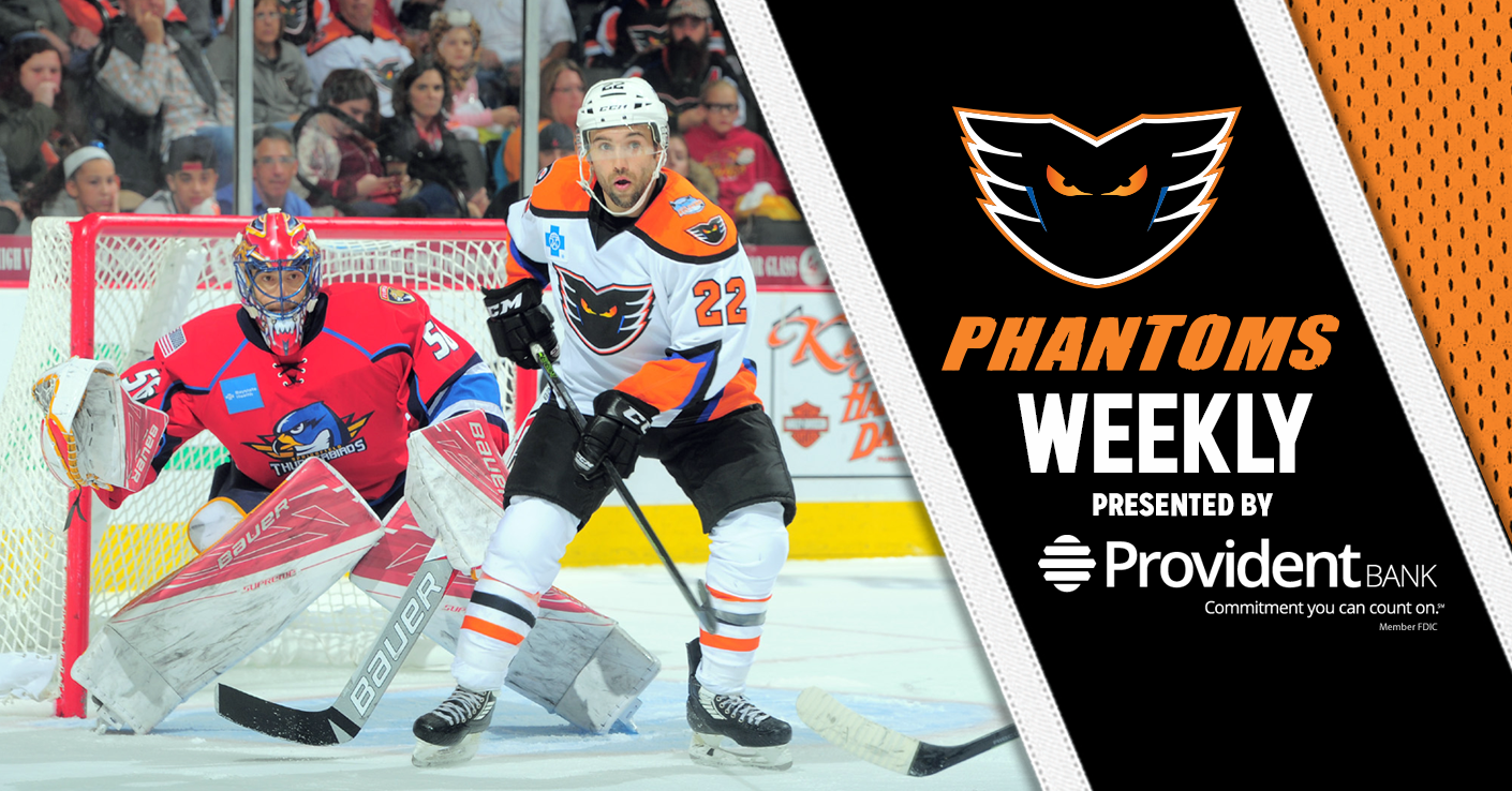 Phantoms Weekly Presented by Provident Bank - Post-Game Autograph Session This Saturday