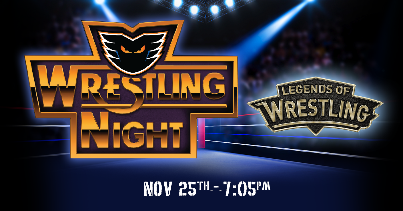 Wrestling Night & Post-Game Jersey Auction! - Saturday, November 25 @ PPL Center
