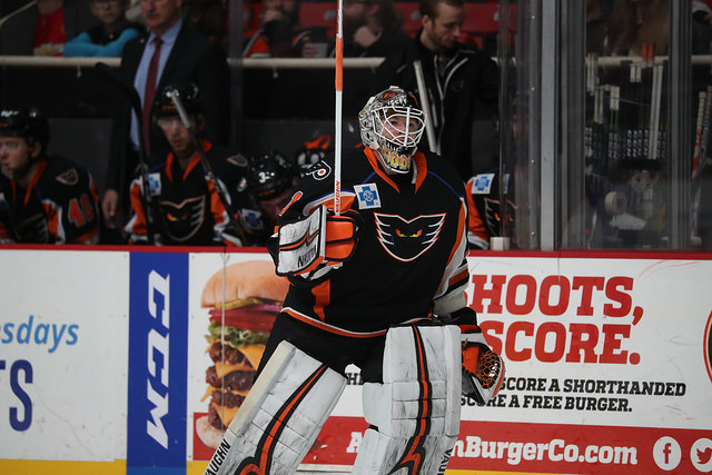 The Moose is Loose! John Muse in Phantoms Relief Beats Former Team
