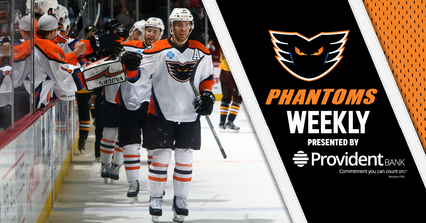 Phantoms Weekly Presented by Provident Bank - Phantoms Face Syracuse This Saturday at PPL Center