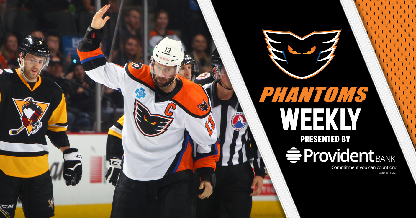 Phantoms Weekly Phantoms Return To Ppl Center For 3 Games This