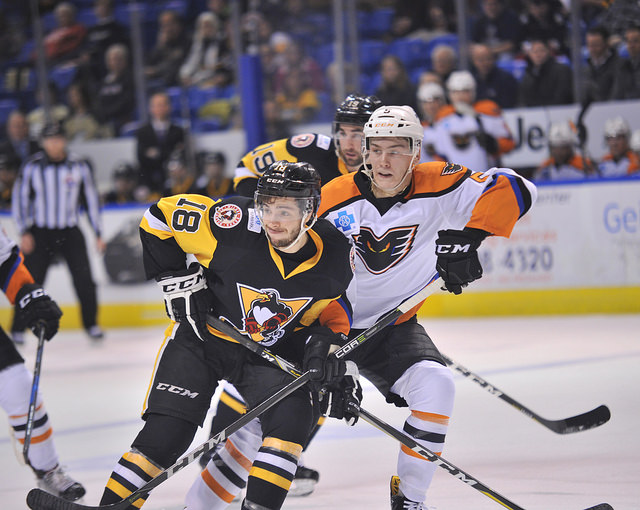 Penguins Battle Back in Rivalry Series