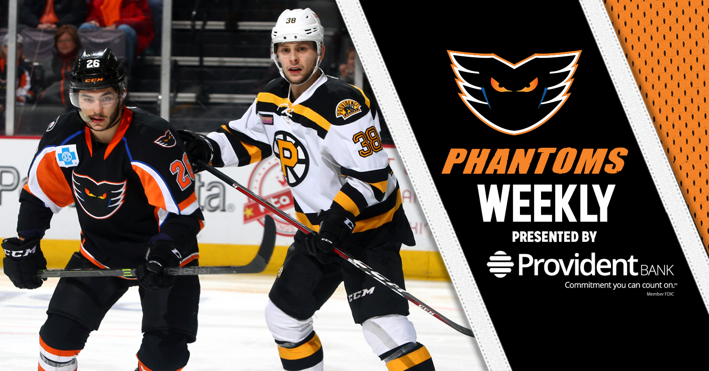 Phantoms Weekly 3-13-18