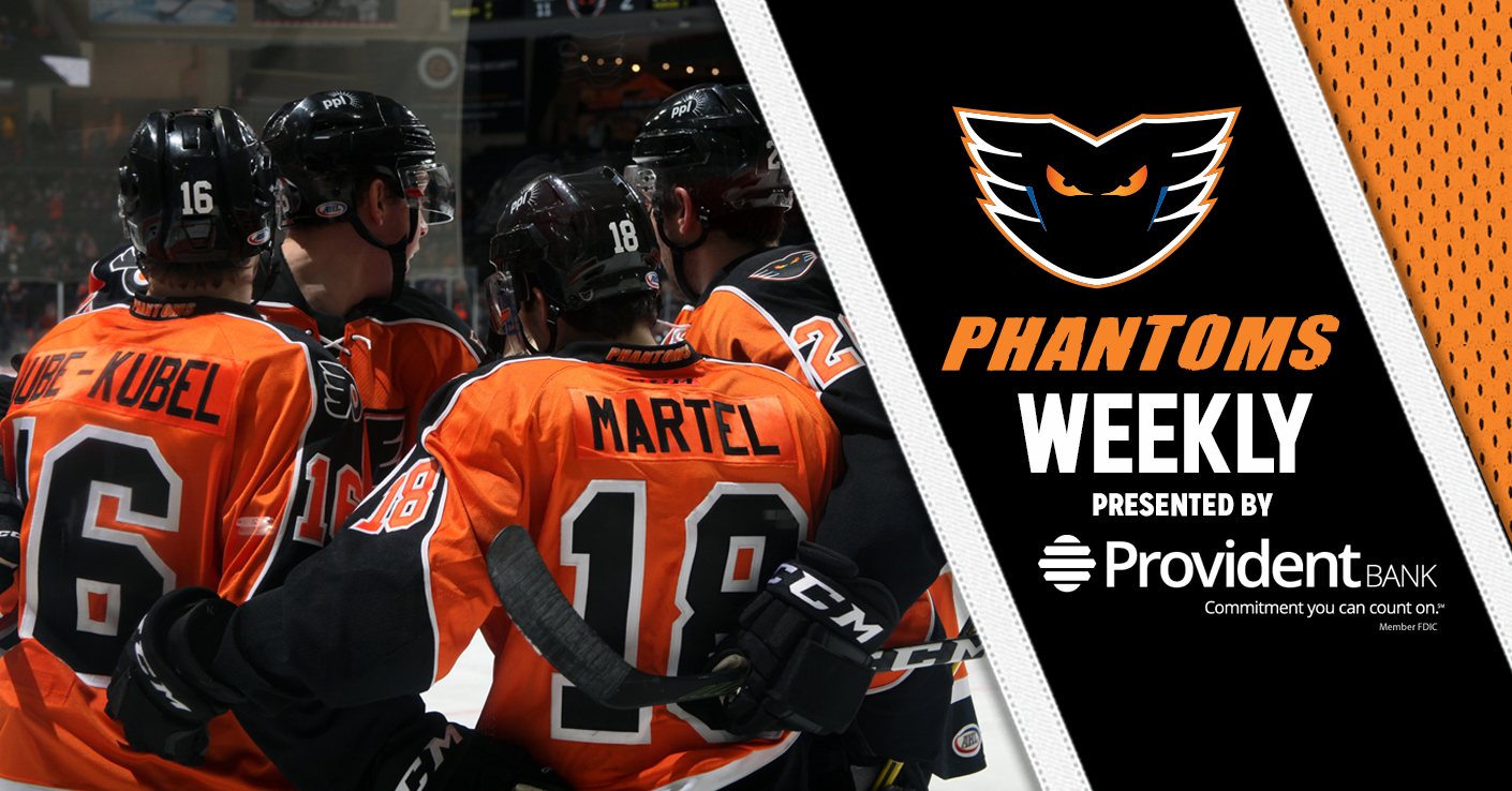 Phantoms Weekly 3-6-18