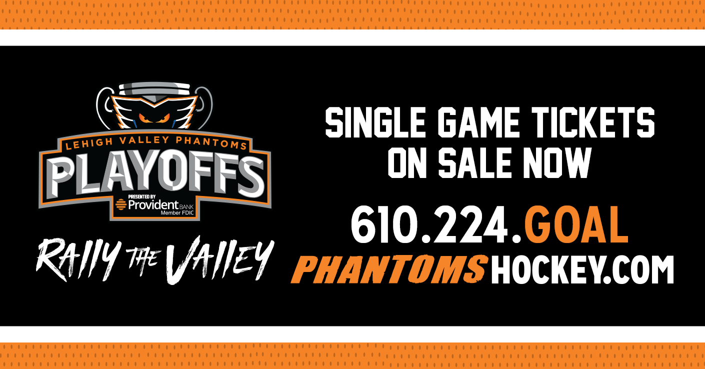 Single Game Playoff Tickets Available Now!