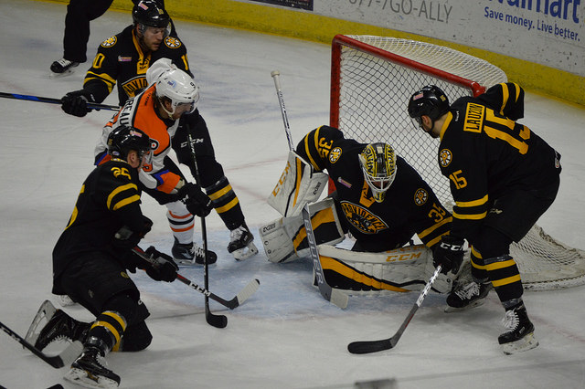 Bruins Bounce Back to Even Series