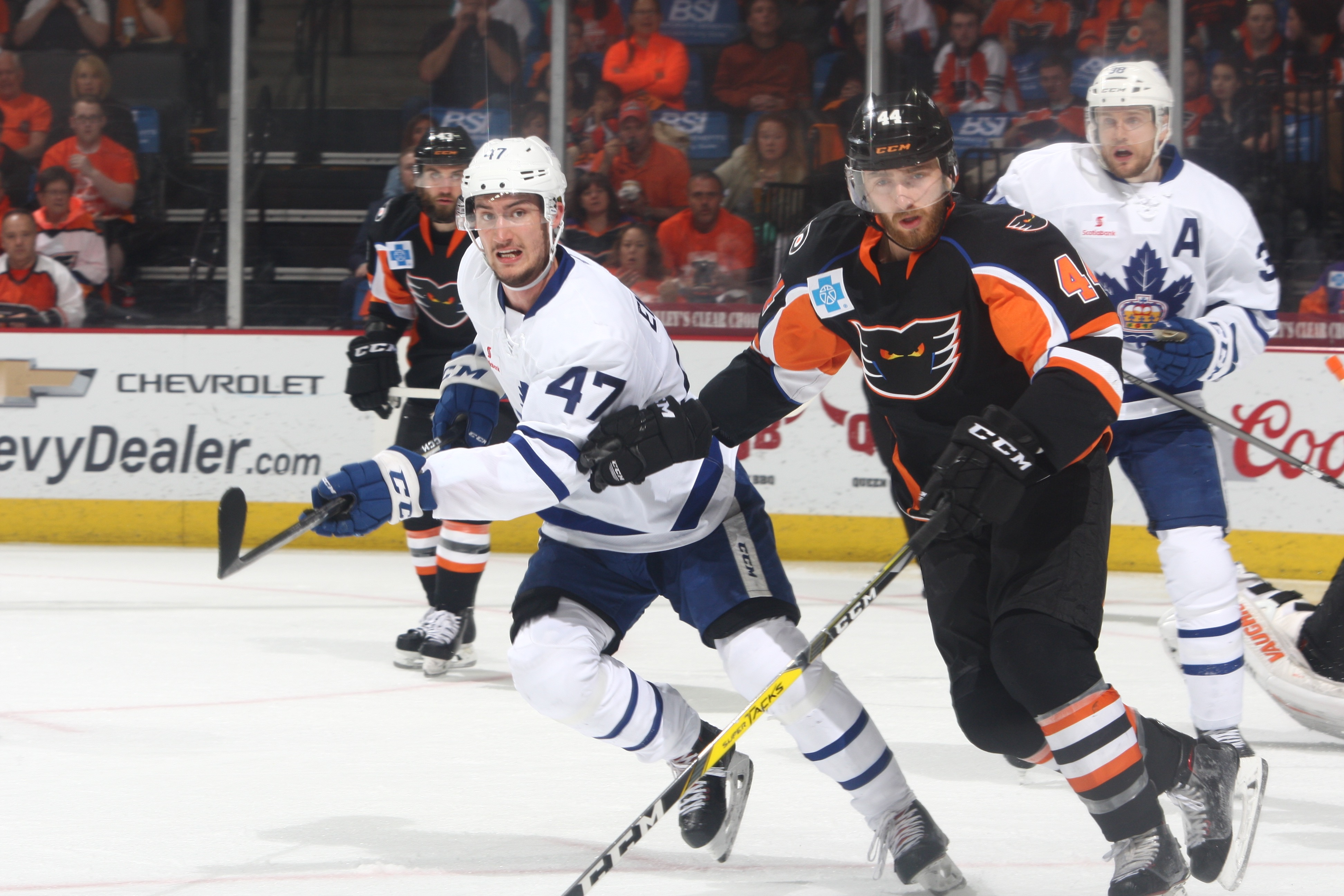 Memorable Phantoms Season Ends in Eastern Conference Finals
