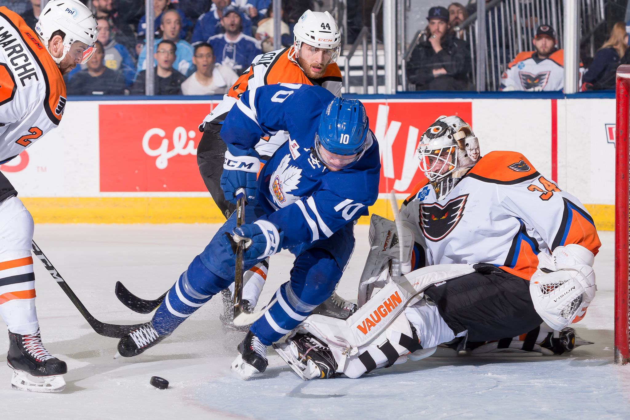 Fast-Paced, Thrilling Game 2 Goes to Marlies in OT