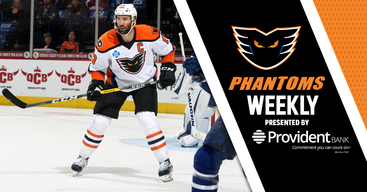 Phantoms Weekly Presented by Provident Bank - Eastern Conference Finals Shifts to PPL Center This Week