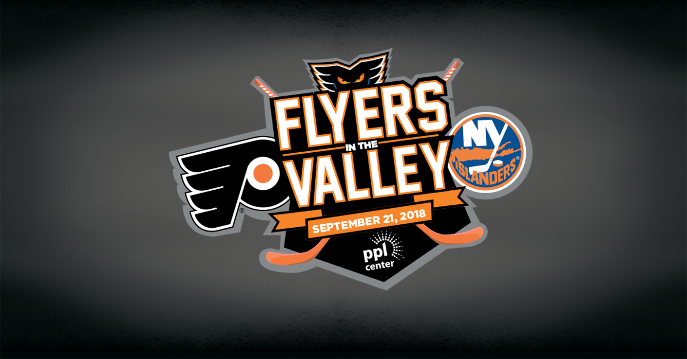 PPL Center to Host Flyers vs. Islanders on Friday, September 21