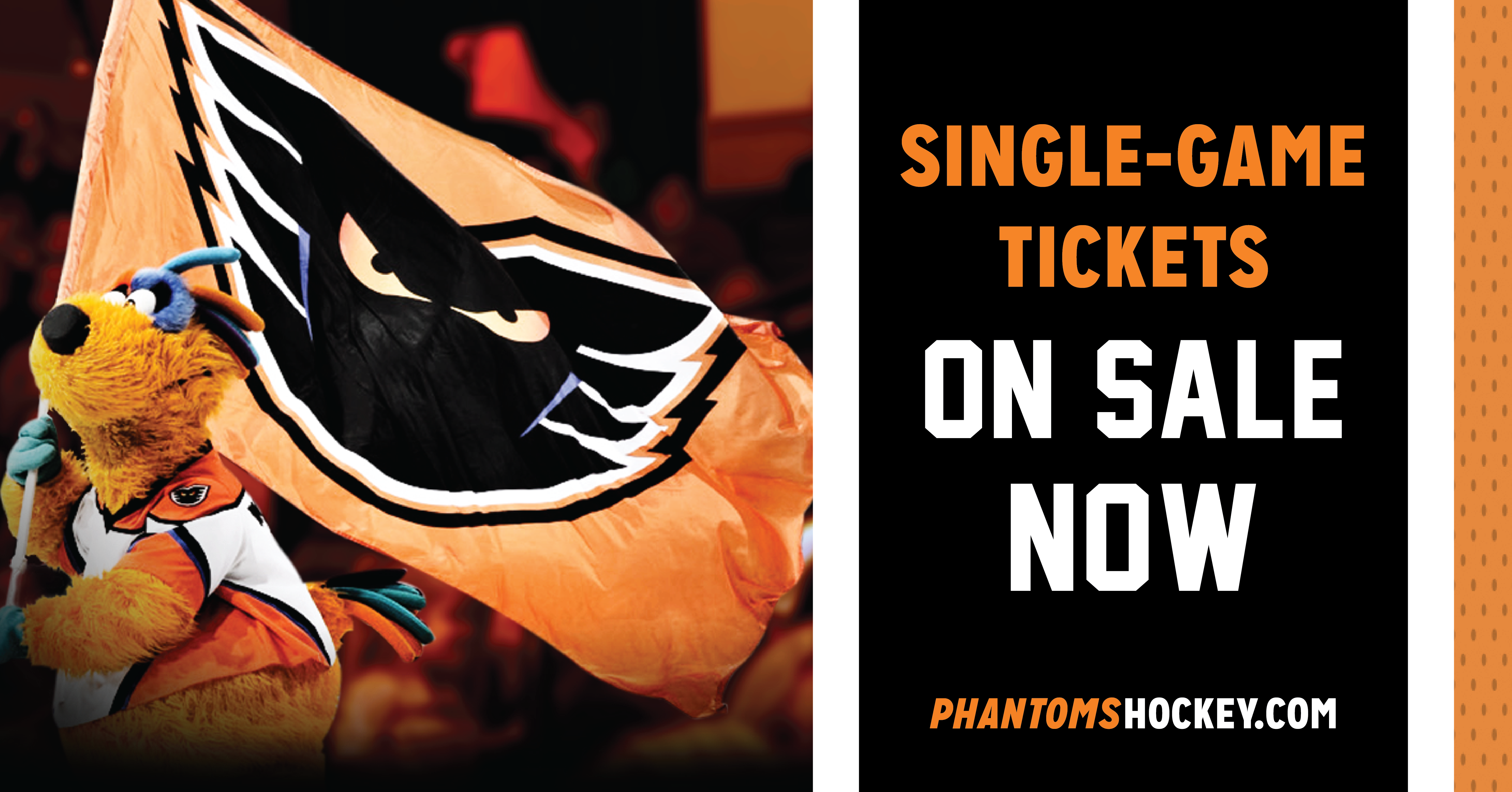 Single-Game Tickets Are Now On Sale!