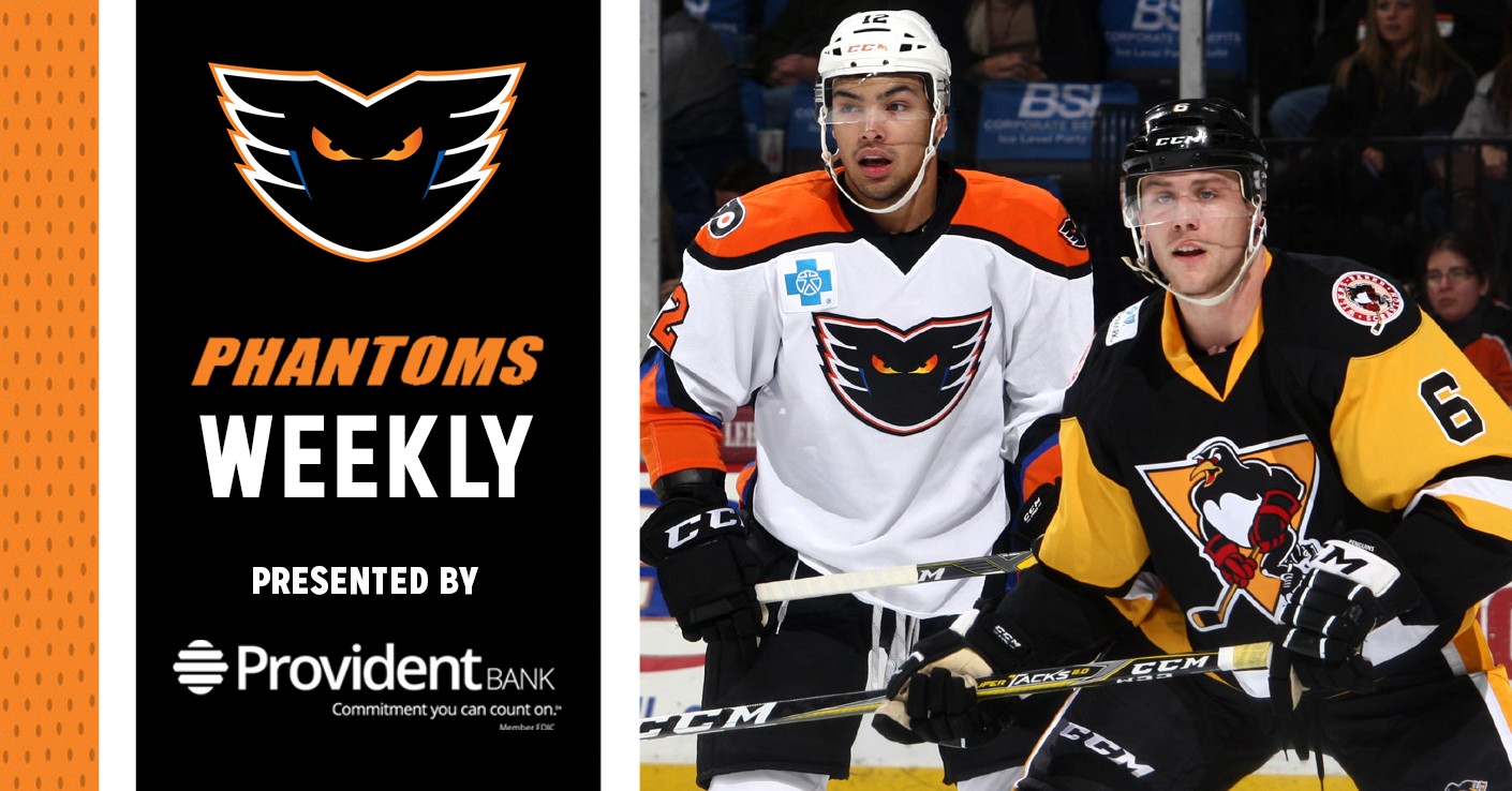 Phantoms Weekly Presented by Provident Bank — 10/16/18