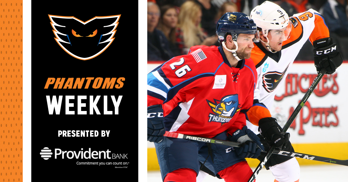 Phantoms Weekly Presented by Provident Bank — 10/9/18