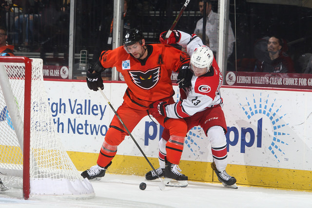 T.J. Brennan Scores Phantoms Franchise 100th Overtime Winner