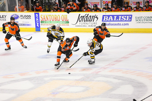 Phantoms Rally From Early Deficit for Exciting 5-4 Win at Providence