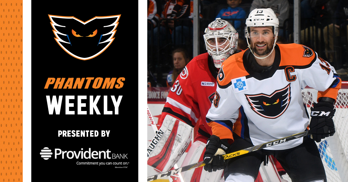 Phantoms Weekly Presented by Provident Bank — 11/13/18