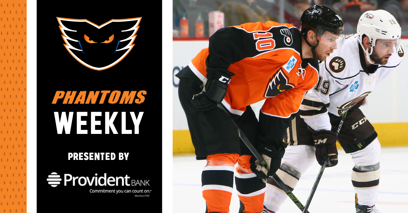 Phantoms Weekly Presented by Provident Bank — 11/20/18