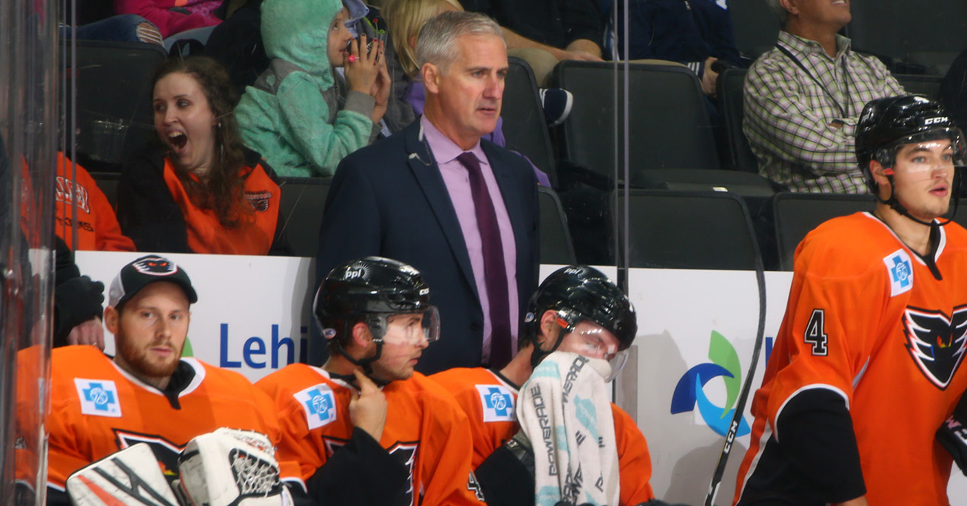 Phantoms Announce Kerry Huffman Will Serve As Acting Head Coach