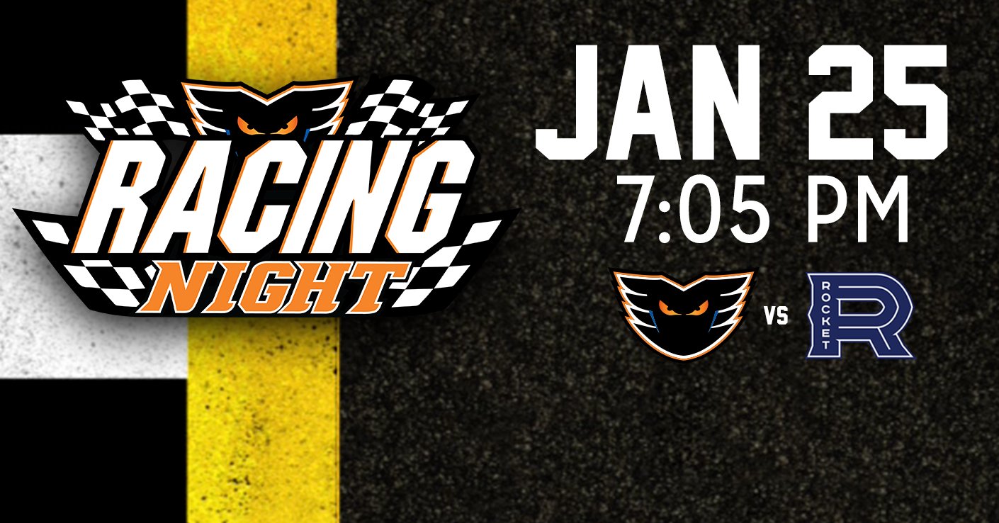 Special Appearances Highlight Phantoms Racing Night on Friday January 25th
