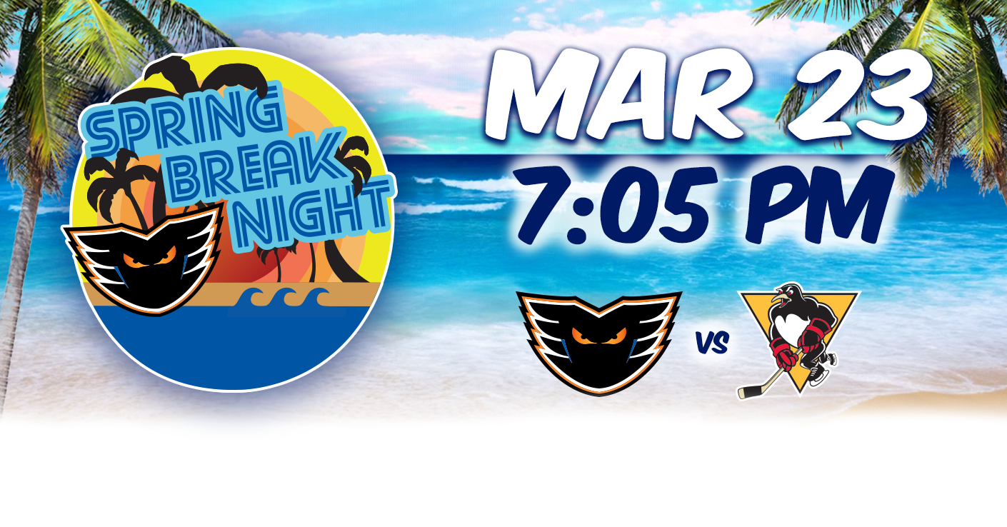 Spring Break Night, March 23 vs. Wilkes-Barre/Scranton @ PPL Center