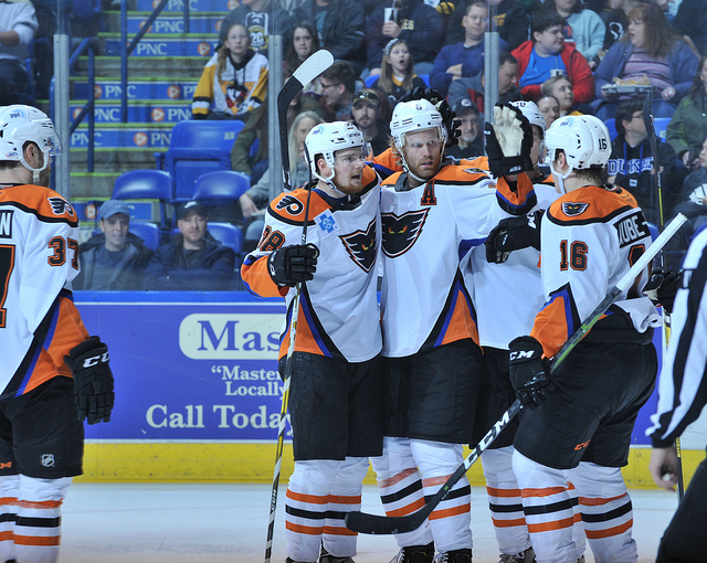 Aube-Kubel Scores Twice in Phantoms Win at Wilkes-Barre
