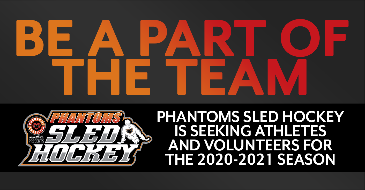 Phantoms Charities Sled Hockey